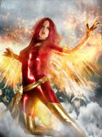 Phoenix Rising by Hidrico