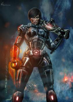 Alora Shepard - Mass Effect