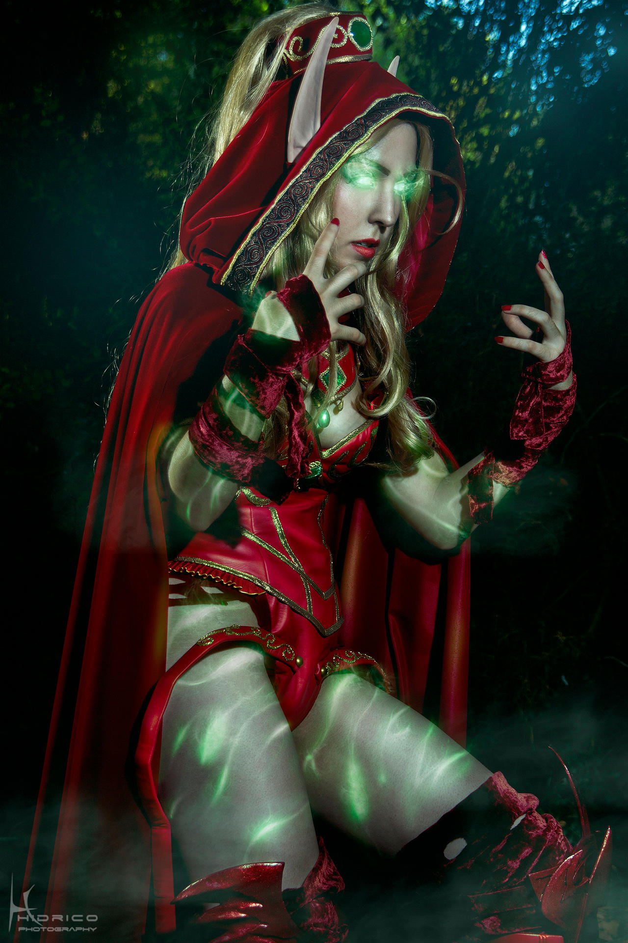 Valeera Sanguinar- World of Warcraft 3 by Hidrico