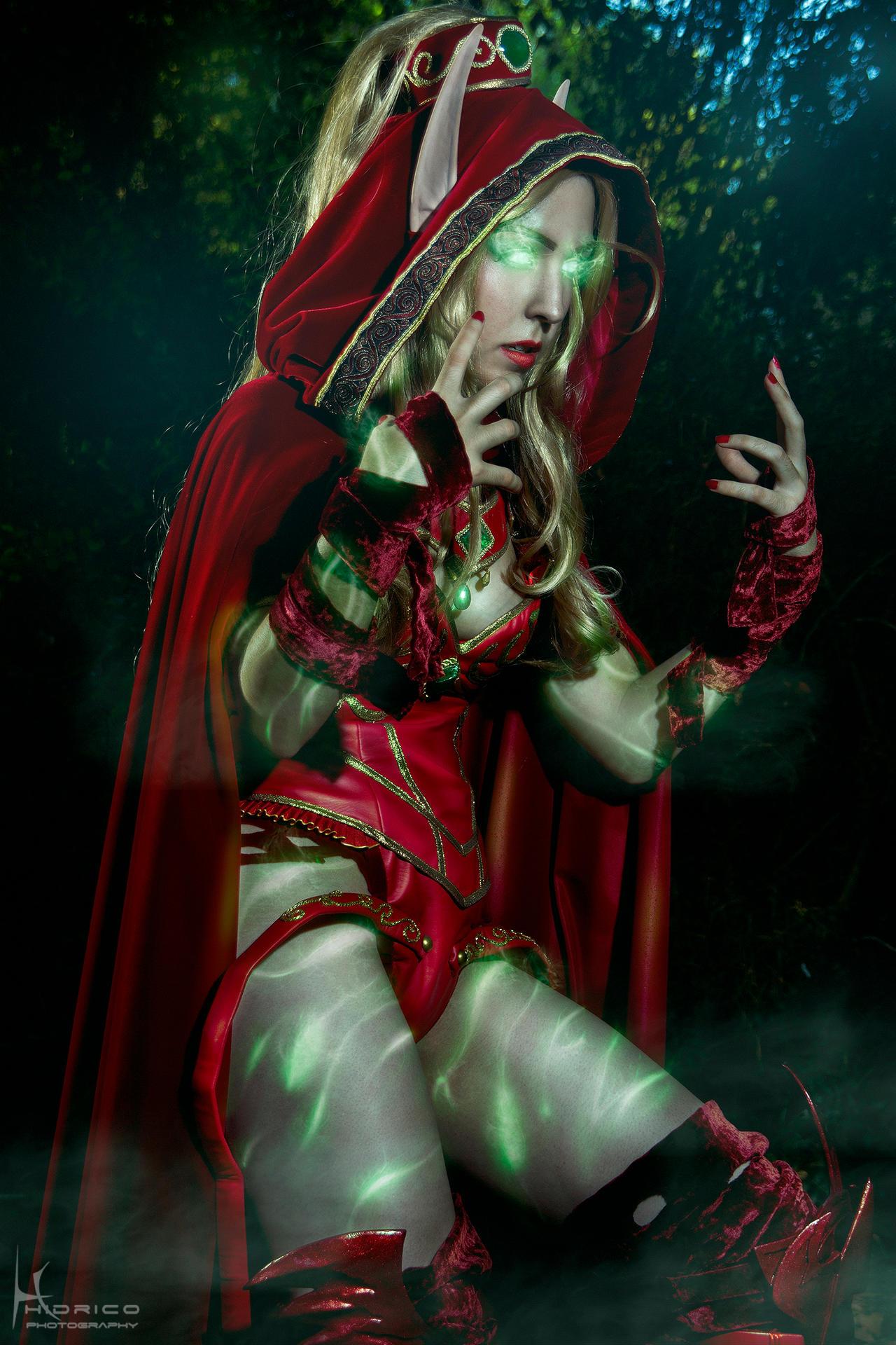 Valeera Sanguinar- World of Warcraft 3 by Hidrico