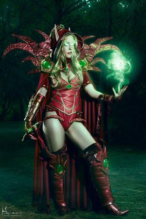 Valeera Sanguinar - World of Warcraft 4 by Hidrico