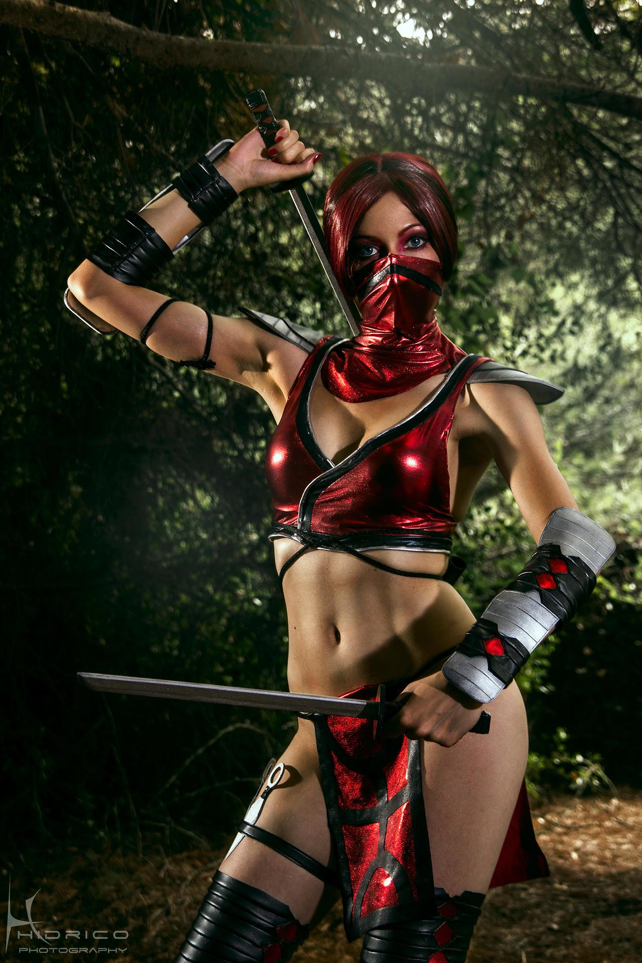 Skarlet - Mortal Kombat 9 - 2 by Hidrico