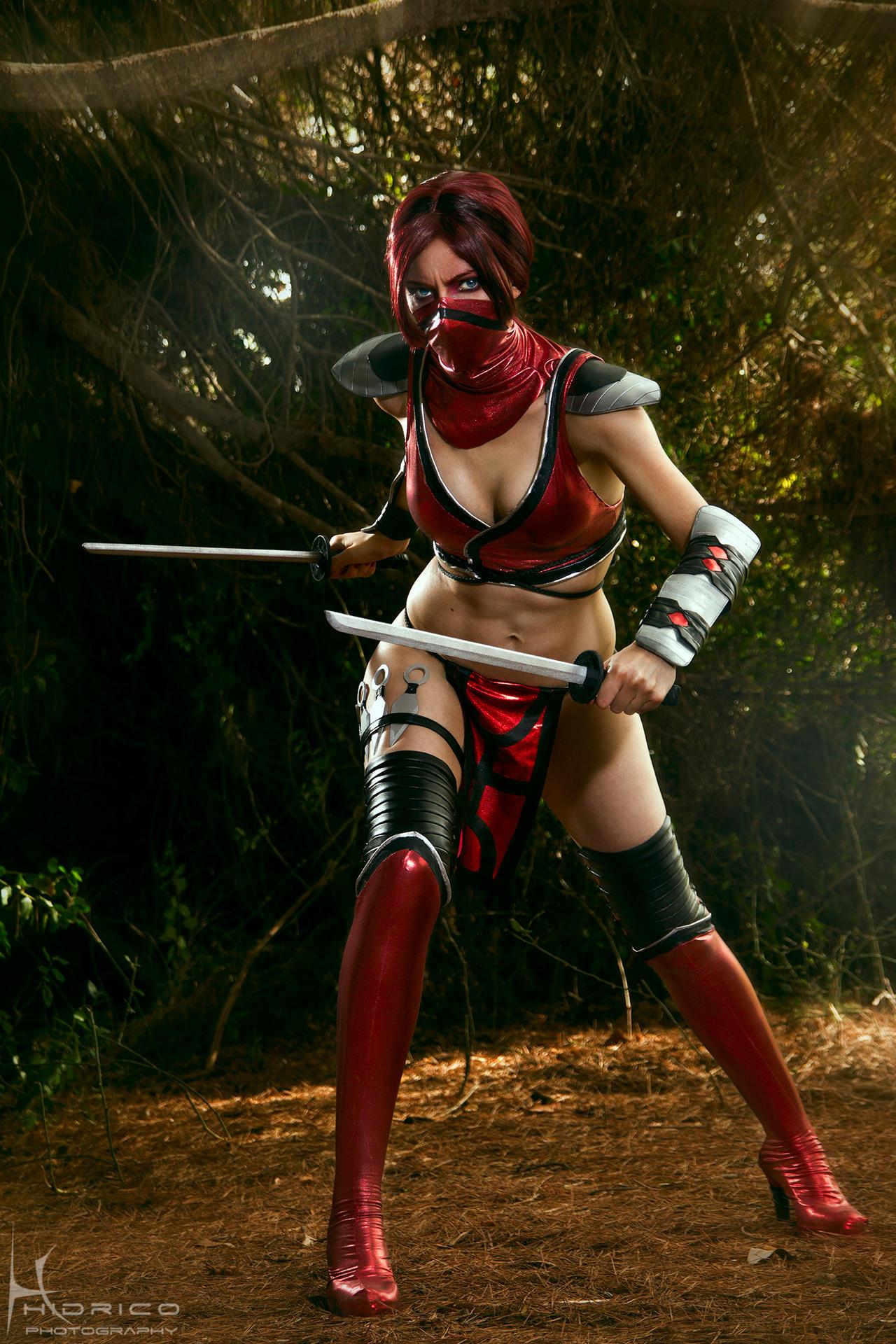 Skarlet - Mortal Kombat 9 - 3 by Hidrico