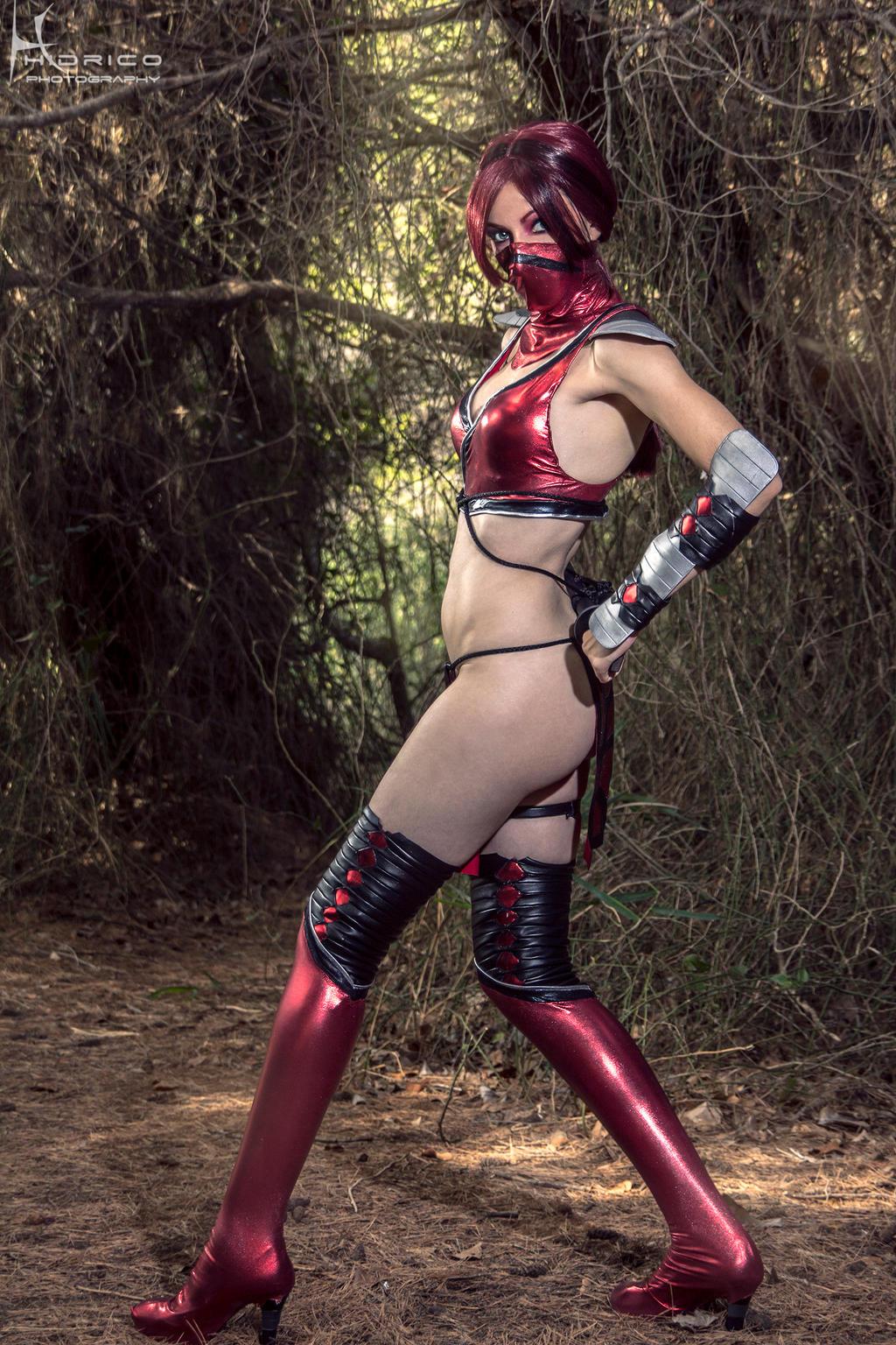 Skarlet - Mortal Kombat 9 - 4 by Hidrico
