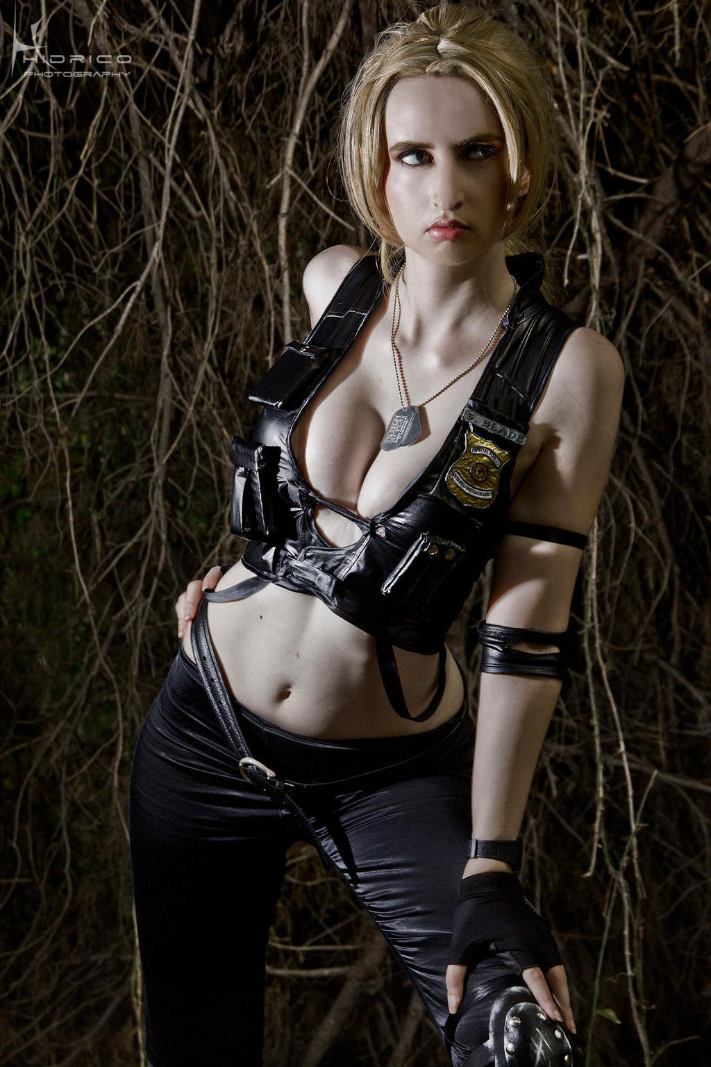Sonya Blade - Mortal Kombat 9 - II by Hidrico