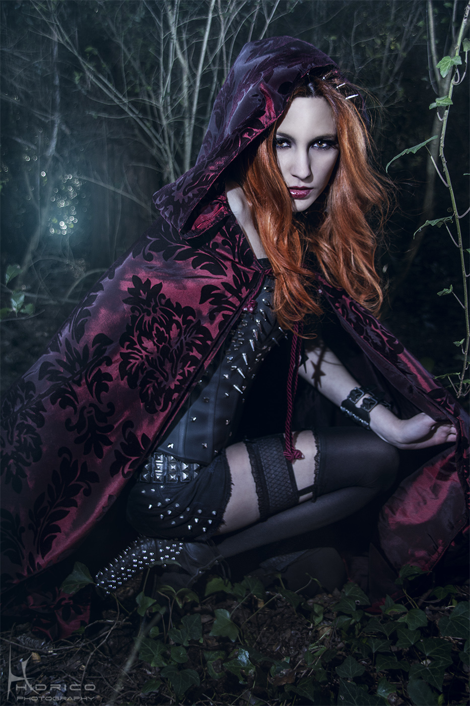 Red Riding Hood Rocker -  V by Hidrico