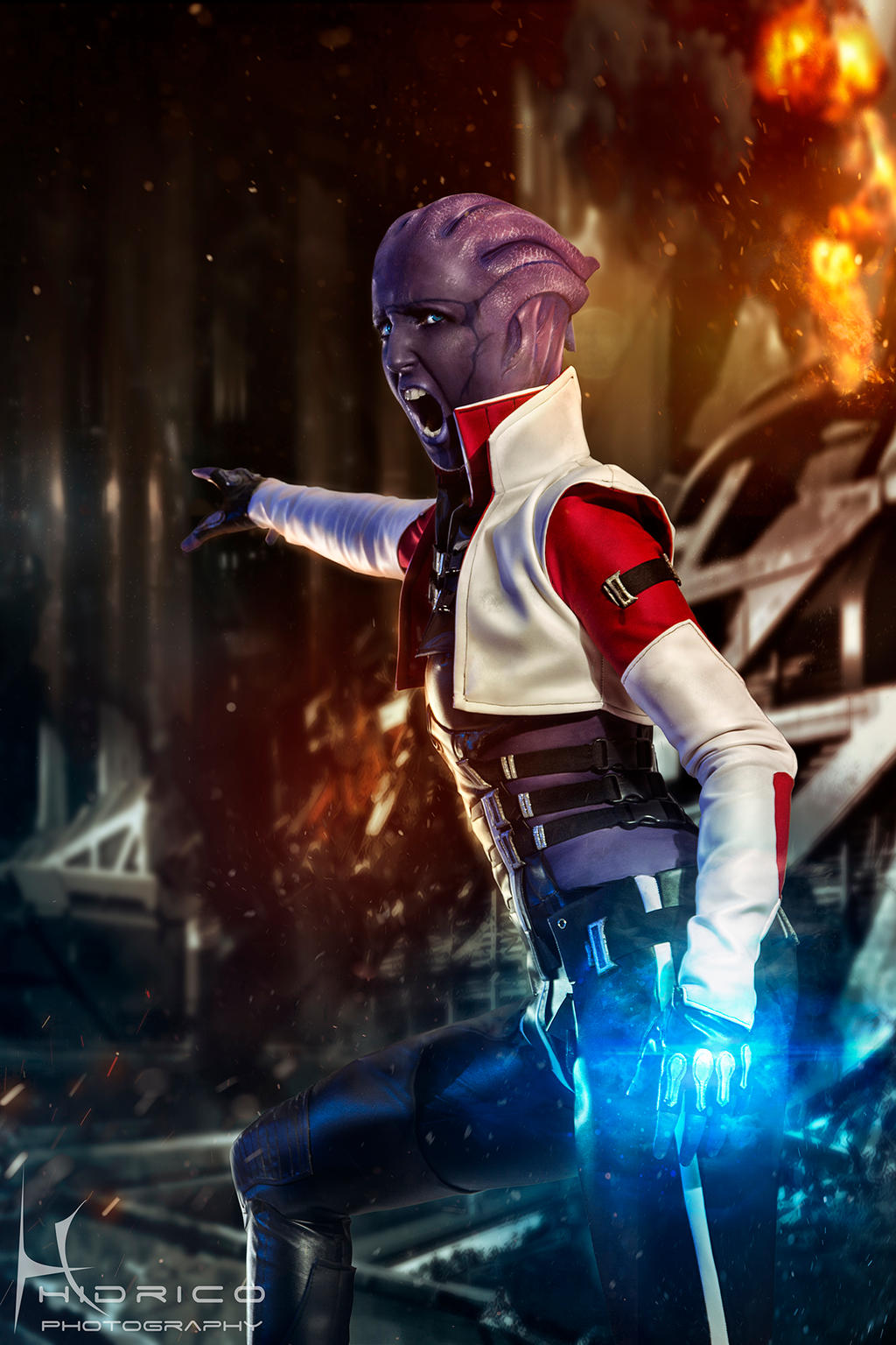 Take Omega Back - Mass Effect by Hidrico