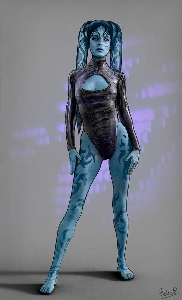 Twi'lek Dancer by Hidrico