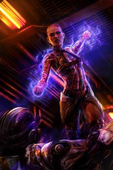 Hello, dead people! - Jack Mass Effect