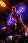 Hello, dead people! - Jack Mass Effect by Hidrico
