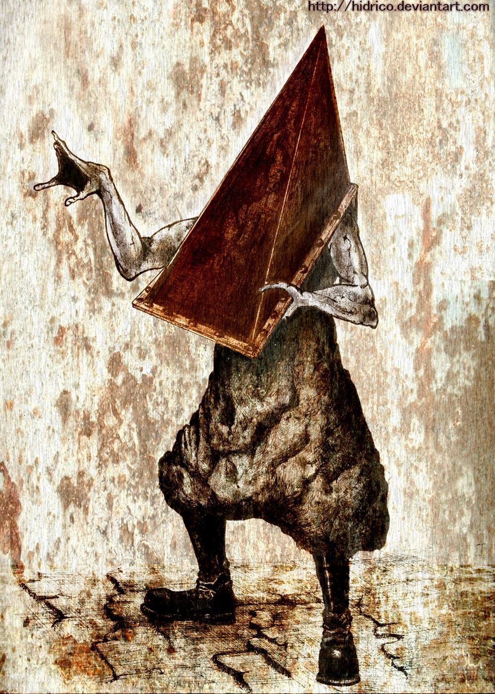 Pyramid Head Silent Hill 2 by Hidrico