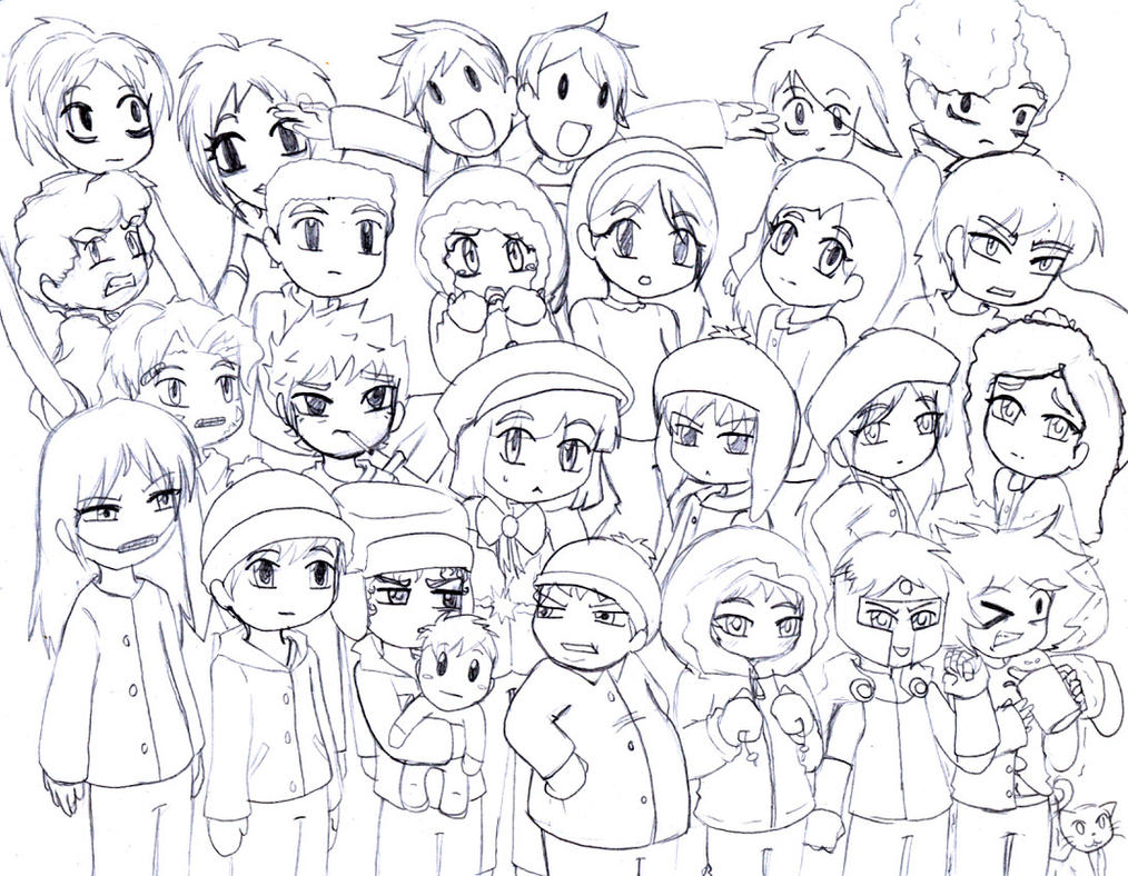 South park coloring pages to print az coloring pages - South Park By Anigirl5