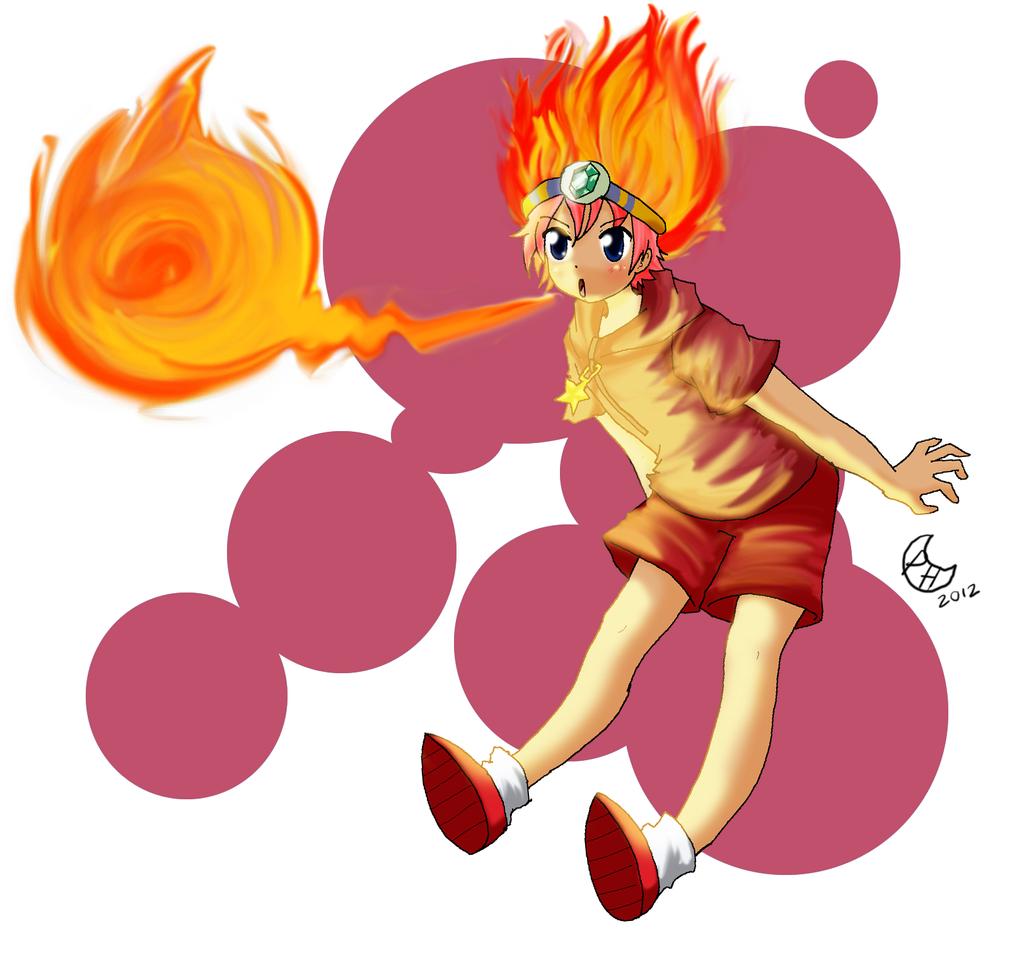 Fire Kirby by Anigirl5 on DeviantArt