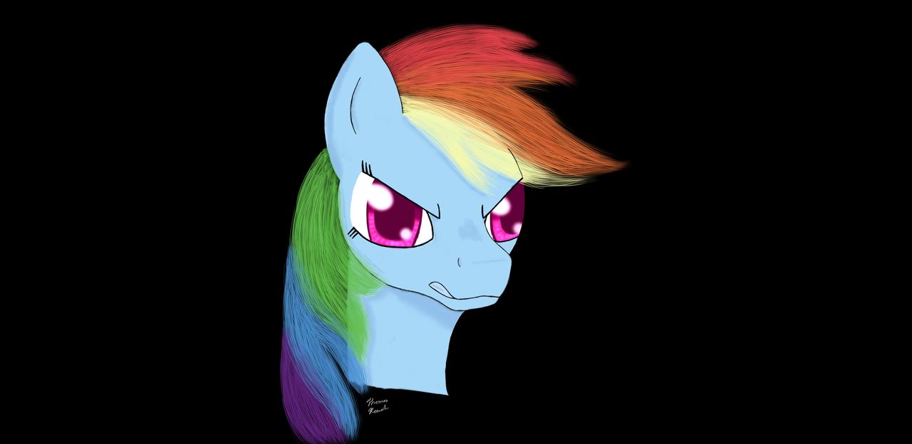 Rainbow Dash by heinrich2oo5