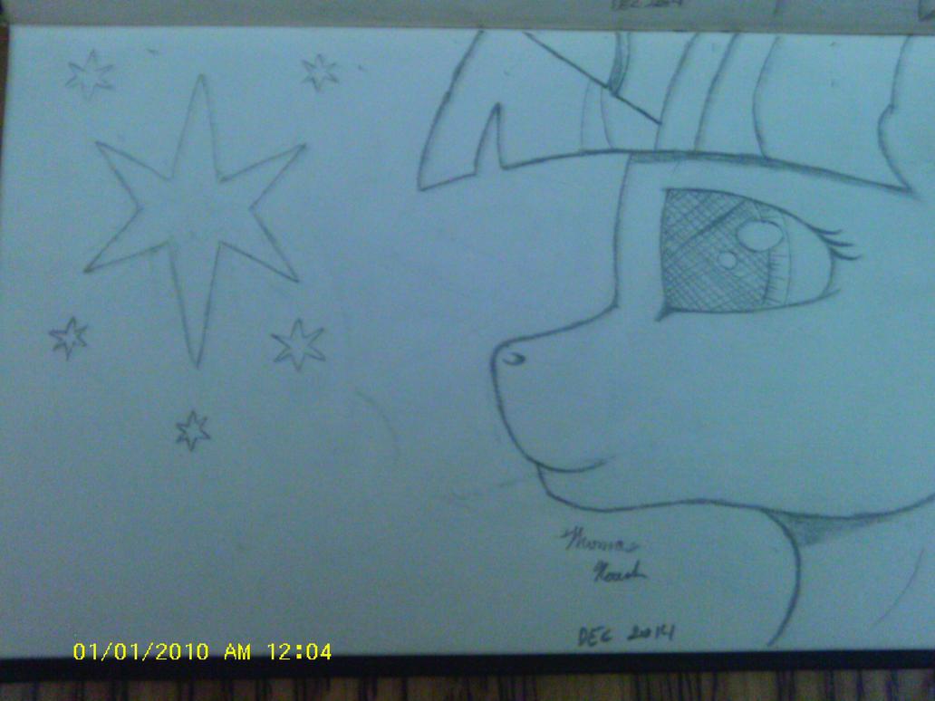 Twilight Sparkle Sketch by heinrich2oo5