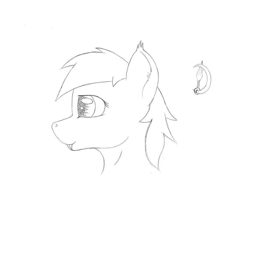Ebony Dawn Sketch by heinrich2oo5