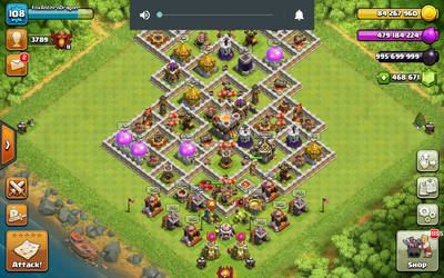 Maxed base! (private server)