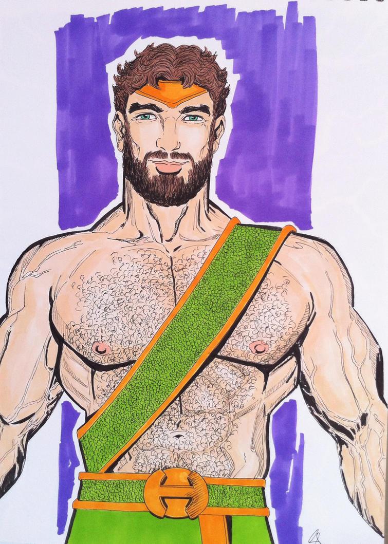 Hercules by seanpatrick76