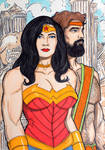 Wonder Woman and Hercules