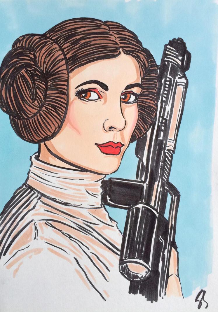 Princess Leia by seanpatrick76