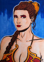Princess Leia Organa...... by seanpatrick76