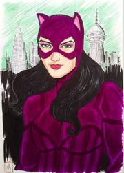 Catwoman by seanpatrick76