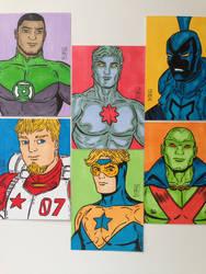 Leaguers Sketch Cards