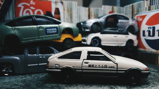 Takumi's Ae86 Trueno