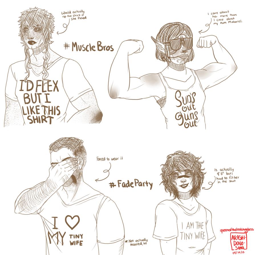 DA T-Shirts Pt. 1 by Arashi-dono-sama