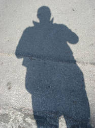 just a shadow