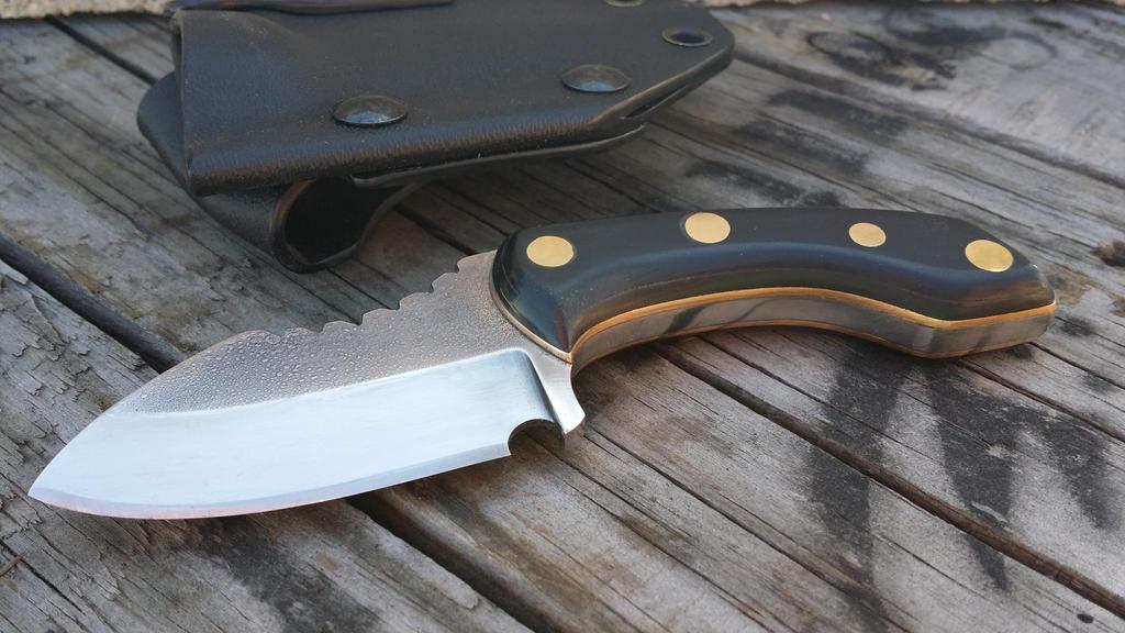 Skinner Squid Neck Knife By RavenStagDesign On DeviantArt