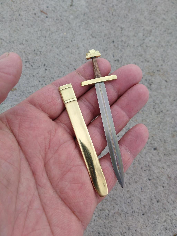 Forged Titanium Viking sword by RavenStagDesign