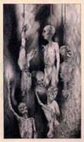 Death, Mayhem et Pestilence by eliasaquino
