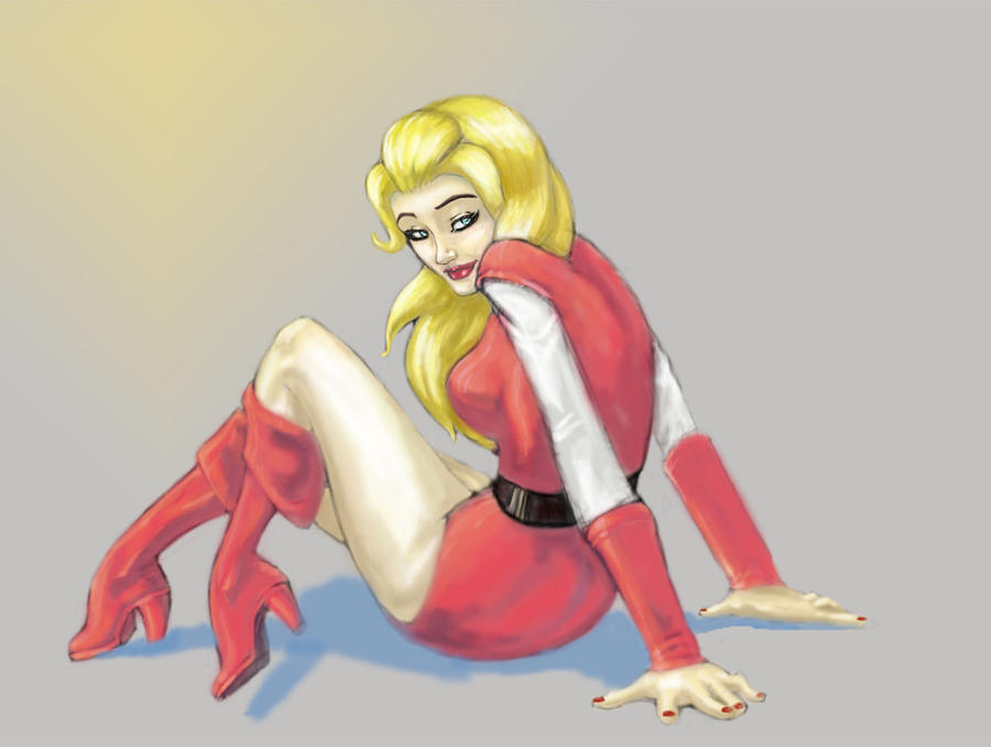 Lady in Red by Tentu