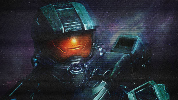 Master Chief+Space Wallpaper