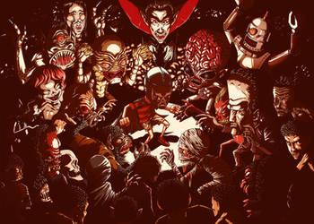 Blue Demon v.s Los Monstruos by rafahu