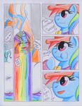 Fluttershy and the Rainbow Factory P. 34