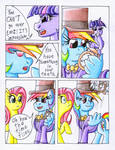 Fluttershy and the Rainbow Factory P. 74