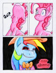Fluttershy and the Rainbow Factory P. 88