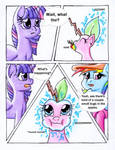 Fluttershy and the Rainbow Factory P. 92