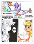 Fluttershy and the Rainbow Factory P. 97