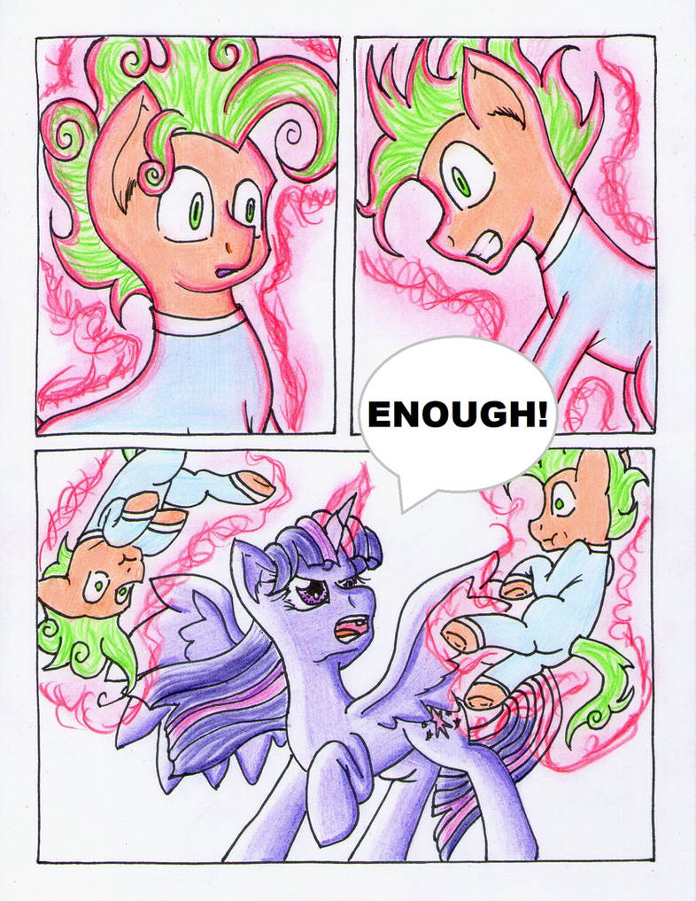 Fluttershy and the Rainbow Factory P. 117 by The1King