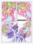 Fluttershy and the Rainbow Factory P. 117