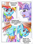 Fluttershy and the Rainbow Factory P. 118