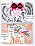 Fluttershy and the Rainbow Factory P. 124