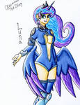 Goddess of the Moon: Luna by The1King