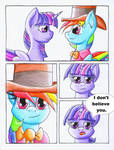 Fluttershy and the Rainbow Factory P. 129
