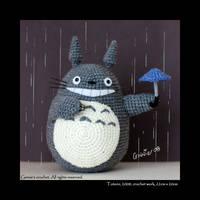 Totoro by ginnieair