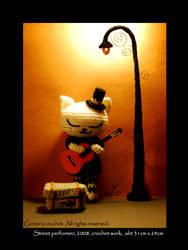 Street Performer by ginnieair