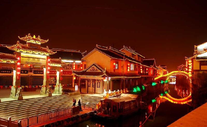 The Night Scene Of Nan Chan Si by leeenya